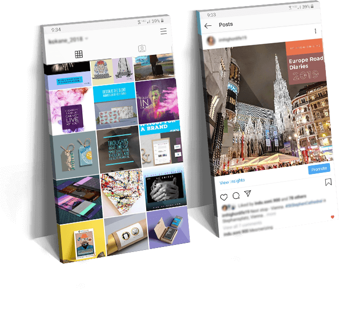 social media design by ko-kane